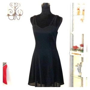 Like New Fit and Flare little black dress